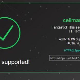 Добавлена поддержка HTTP/2>