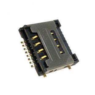 Коннектор SIM карты для Huawei Y320, Y325, Y518, G7300, G600