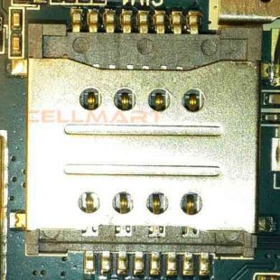Коннектор SIM карты для Digma Optima 7.07 считыватель