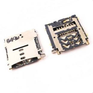Коннектор MicroSD и SIM карт для Samsung A300, A500, A700