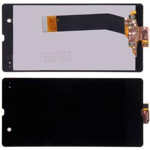 Дисплей для Sony C6603, C6602, C6606 чёрн. с тачскр.