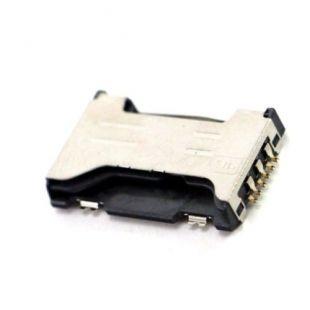 Коннектор SIM карты для Samsung S7562, S7580, C6712, S7560