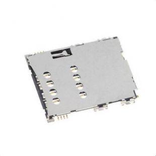Коннектор SIM карты для Samsung S5620, P1000, P3100 ор.