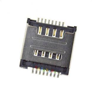 Коннектор SIM карты для Lenovo S720, A580, S660, A780e