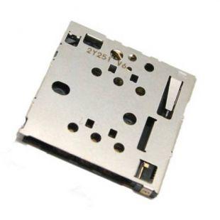Коннектор SIM карты для Nokia 820, 502 Dual, 630, 730 оригинал