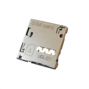 Коннектор SIM карты для Samsung T231, T211, T235, N5120, N5110