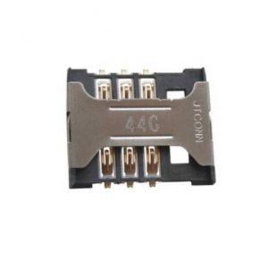 Коннектор SIM карты для Sony D2005 Xperia E1, D2105