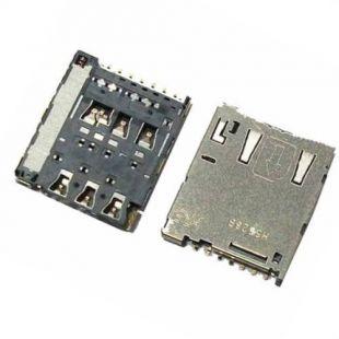 Коннектор SIM карты для Sony E2303, E2312, E2333
