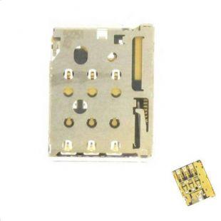 Коннектор SIM карты для Sony E5303 Xperia C4, E5333, E5363, E5343