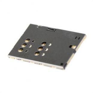 Коннектор SIM карты для Sony ST25i Xperia U