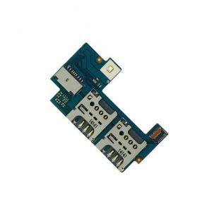 Коннекторы SIM для Sony C2305, C2304 на плате