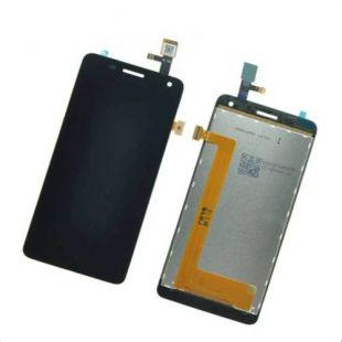 Дисплей для Lenovo S660 в сборе с тачскрином, чёрный