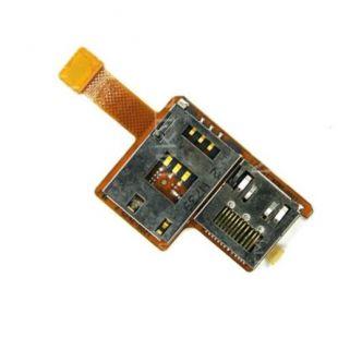 Коннектор SIM карты для SonyEricsson K850 оригинал