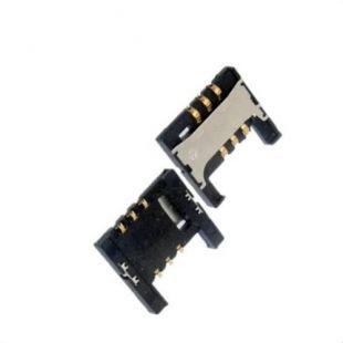 Коннектор SIM карты для Samsung i9100, i9103, i9105, i777