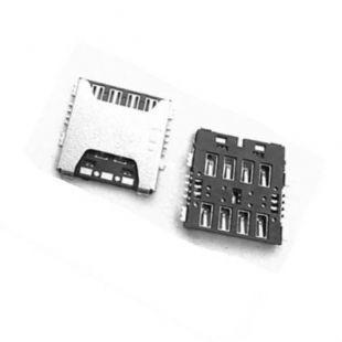 Коннектор SIM карты для Samsung N910, N9100