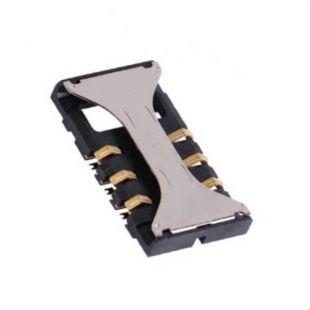 Коннектор SIM карты для Samsung S5830, B5722, i900