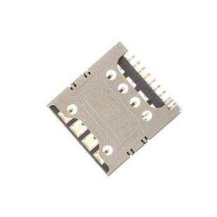 Коннектор SIM карты для Samsung G350, i8262