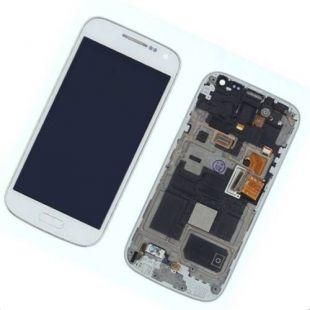 Дисплей для Samsung i9192, i9190, i9195 с тачск. белый