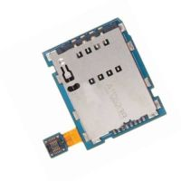 Коннектор SIM карты для Samsung P7500, P7501 со шлейфом