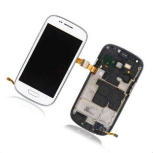 Дисплей для Samsung i8190 Glalaxy S3, белый, в сборе