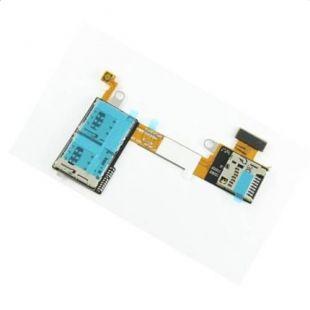 Коннекторы SIM для Sony D2302 с разъёмом microSD