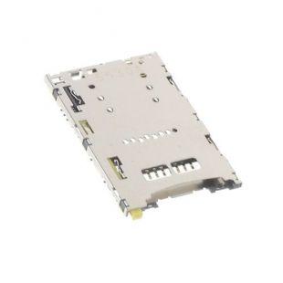 Коннектор SIM карты для Sony E6603 E6653 с раз. microSD