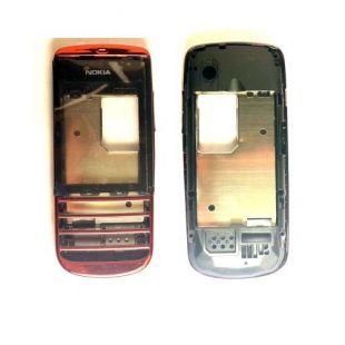 Лицевая часть корпуса для Nokia 300 Asha красная
