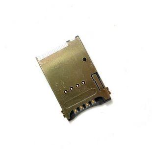 Коннектор SIM карты 10pin (считыватель, слот)