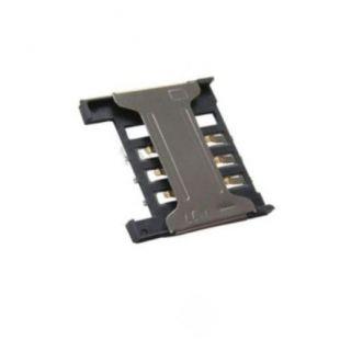 Коннектор SIM карты для Alcatel OT 890, 890D, 665