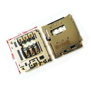 Коннектор SIM карты Blackberry Q5, Z20, Z30, Z3 (считыватель)