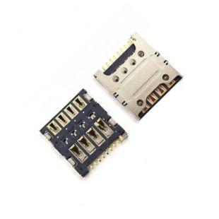 Коннектор SIM карты для Huawei 3C, 3X, C8817, B199, 4C, G750