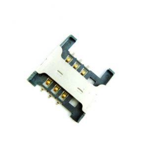 Коннектор SIM карты для Lenovo A298T, A369i, A336, A288, A536