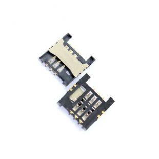 Коннектор SIM карты для Lenovo A788 A568T A3000 A5000
