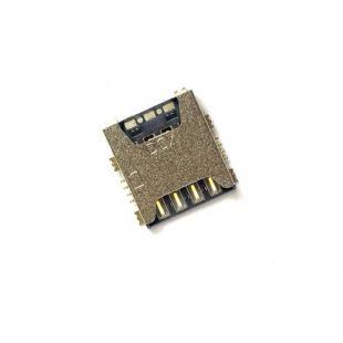 Коннектор SIM карты для Samsung G800F, G800H, G800A S5 Mini