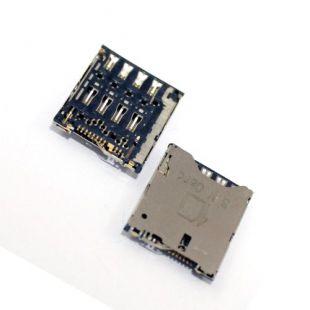 Коннектор SIM карты для Sony Xperia ZL C6502, C6503, C6506