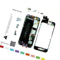 Магнитная карта схема винтов, болтов для iPhone 5