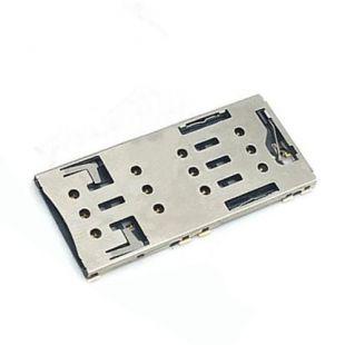 Коннектор SIM карты для Sony F3112, F3116 Xperia XA