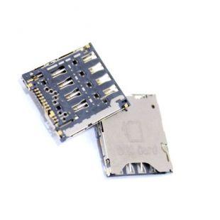 Коннектор SIM карты для Alcatel 6012X , 6012D, 6016X, 6036Y 6040D