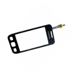 Тачскрин для Samsung S5250, S5750 черный на скотче