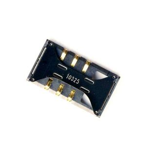 Коннектор SIM карты для Samsung E2232, S5660, S7270, I8160, S5302