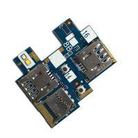 Коннекторы SIM и microSD ASUS ZenFone ZB551KL на плате