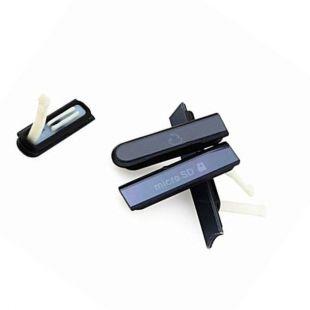 Заглушки для Sony C6603 C6602 C6606 PM-0270-BV черные