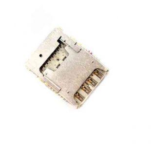 Коннектор SIM карты Micromax Juice A1 Q4251 с разъёмом microSD