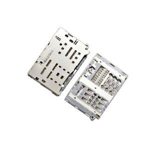 Коннектор SIM карты и MicroSD для LG M320, H820, H830, H840, H848