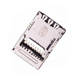 Коннектор SIM карты и MicroSD для LG M250, M160, M200, H900, K420
