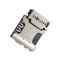 Коннектор SIM карты и MicroSD для Samsung I8580, G3500, I9128