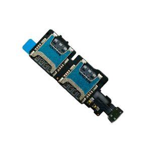 Коннекторы SIM карт для Samsung G800H Galaxy S5 mini на шлейфе