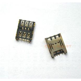 Коннектор SIM карты Alcatel OT-5046D, OT-5085D, OT-5047D nano sim