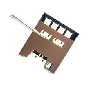 Коннектор SIM карты для HTC Desire 510, D510w