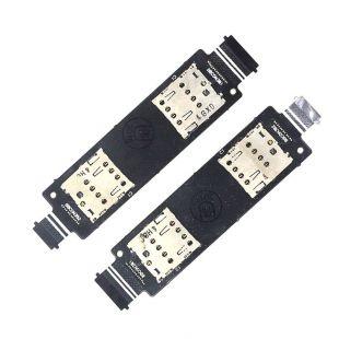 Коннекторы SIM карт для Asus ZenFone 5 A500CG, A501CG на шлейфе